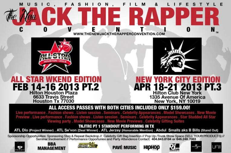 The New Jack The Rapper Convention