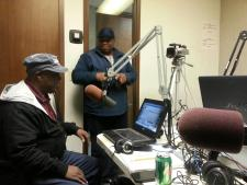 TRC Social Media was in the house with Da Radio Show! 1580 KBLA
