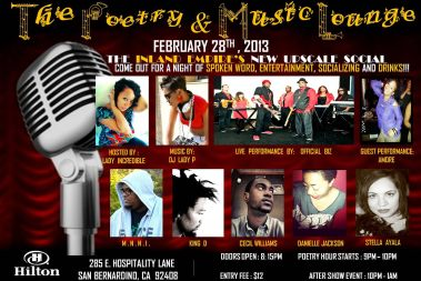 The Poetry and Music Lounge