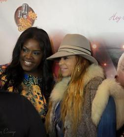 Faith Evans and Tootie From the Ladies of Compton
