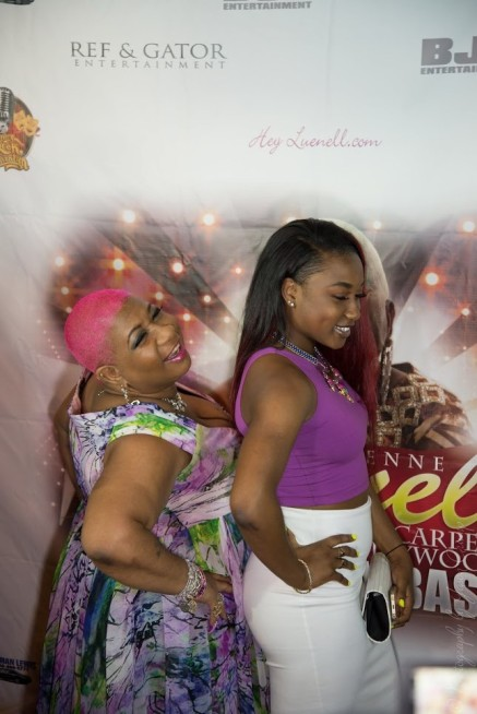 COMEDIENNE LUENELL & FRIENDS RED CARPET CELEBRITY BIRTHDAY BASH 2015
